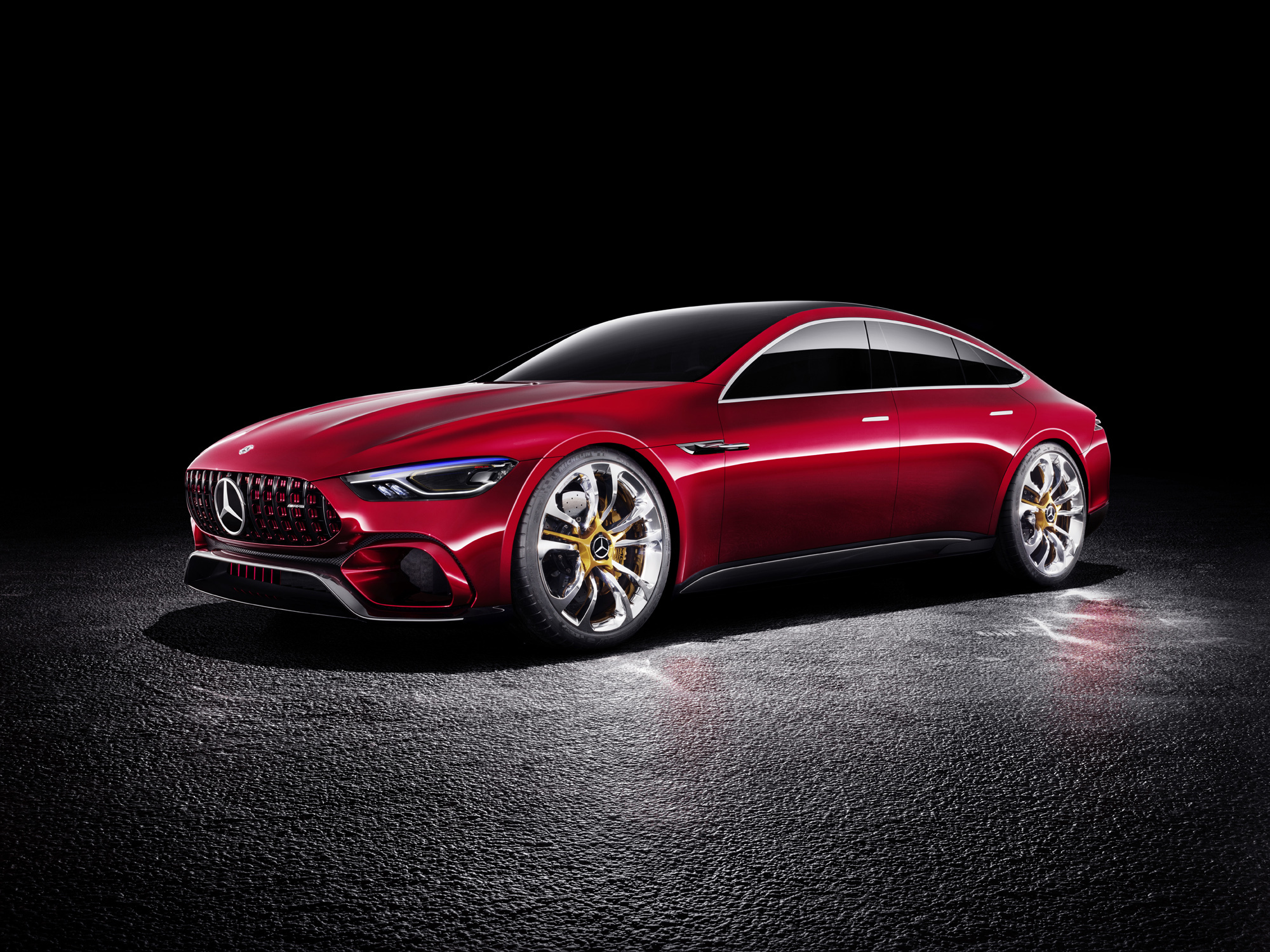 Mercedes AMG GT Concept High Definition Wallpapers