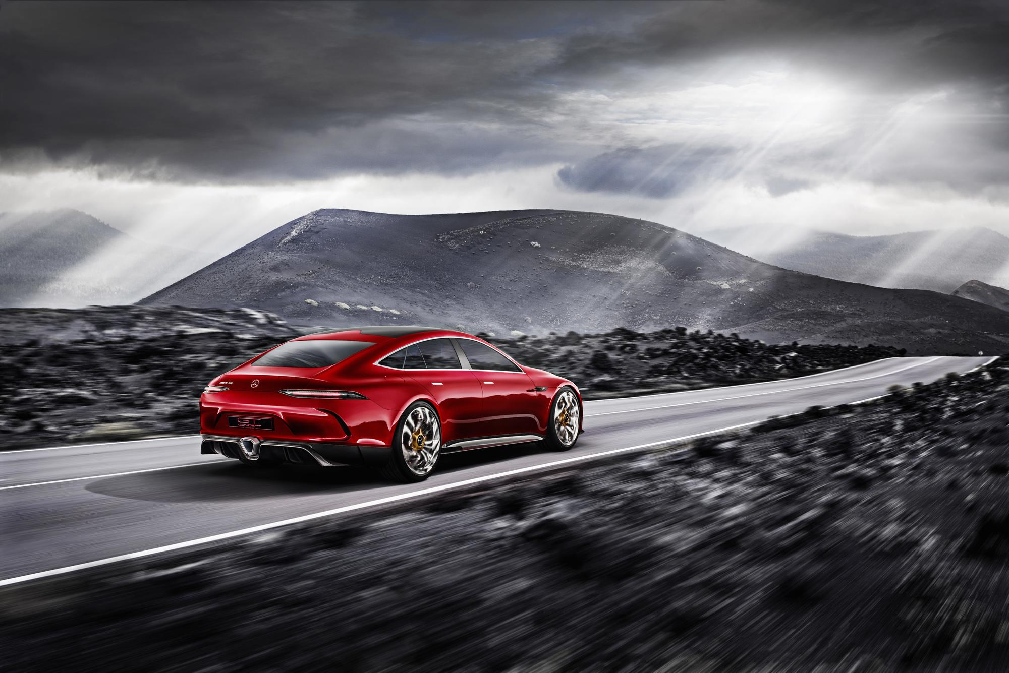 Mercedes AMG GT Concept Photos