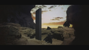 2001 A Space Odyssey HD Background