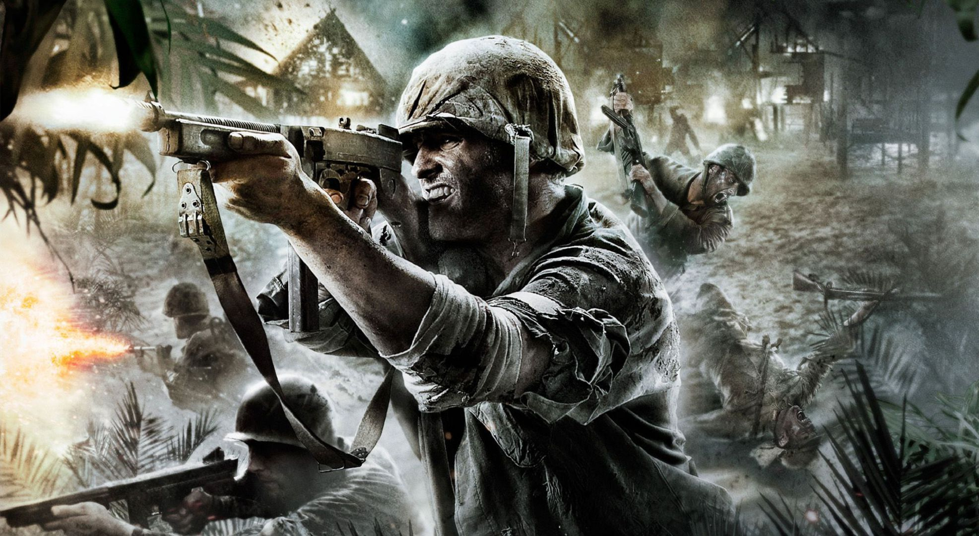 Call Of Duty WWII Widescreen