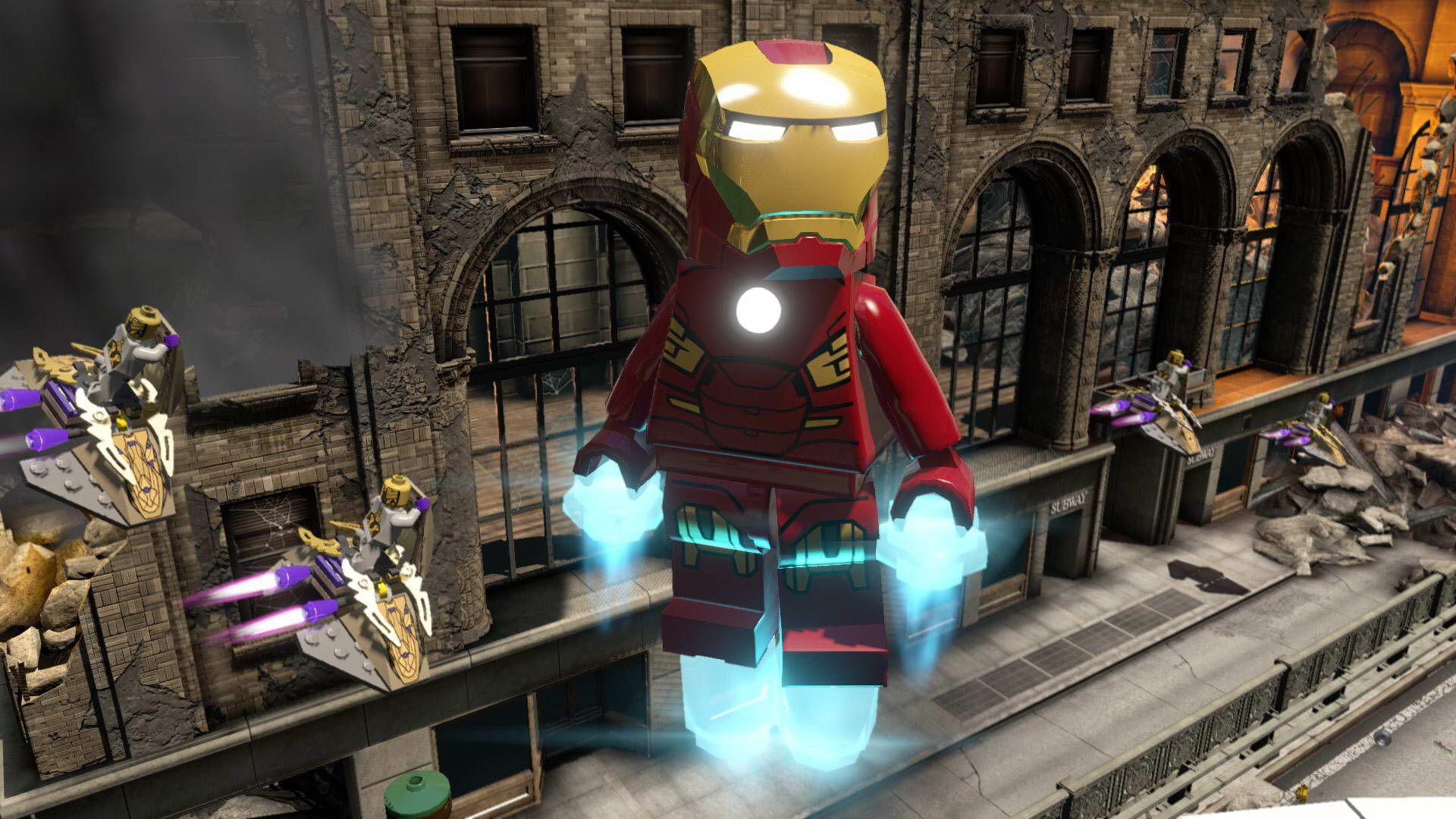 LEGO Marvel Super Heroes 2 Computer Wallpaper