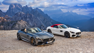Mercedes AMG GT C Roadster HD