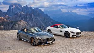 Mercedes AMG GT C Roadster HD