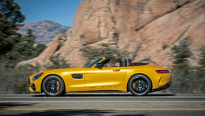 Mercedes AMG GT C Roadster HD Background