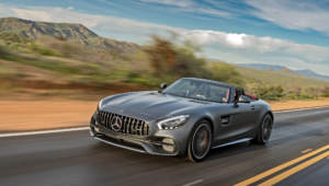 Mercedes AMG GT C Roadster Images