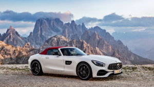 Mercedes AMG GT C Roadster For Desktop