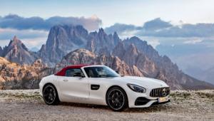 Mercedes AMG GT C Roadster For Desktop