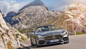 Mercedes AMG GT C Roadster Full HD