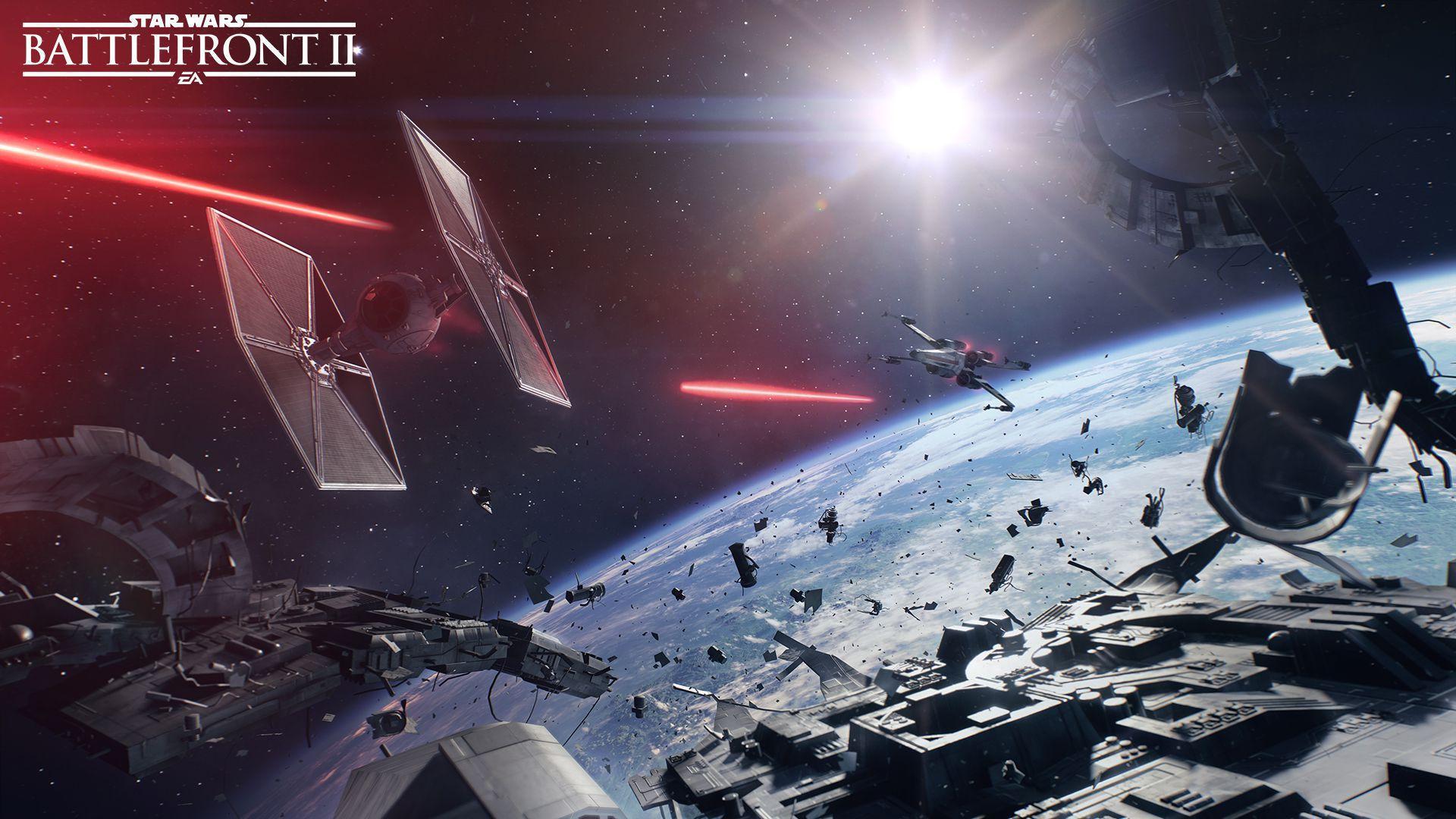 Star Wars Battlefront II Background
