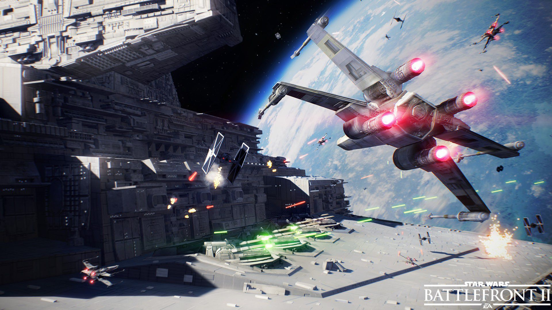 Star Wars Battlefront II HD Background