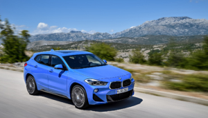 BMW X2 2018 Background