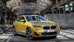 BMW X2 2018 HD Background