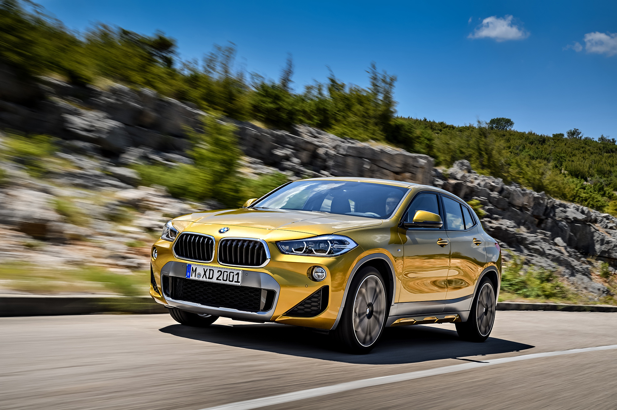 BMW X2 2018 Wallpaper For Computer