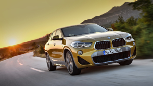 BMW X2 2018 For Desktop Background