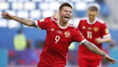 Fedor Smolov Photos