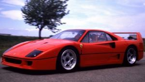 Ferrari F40 Background