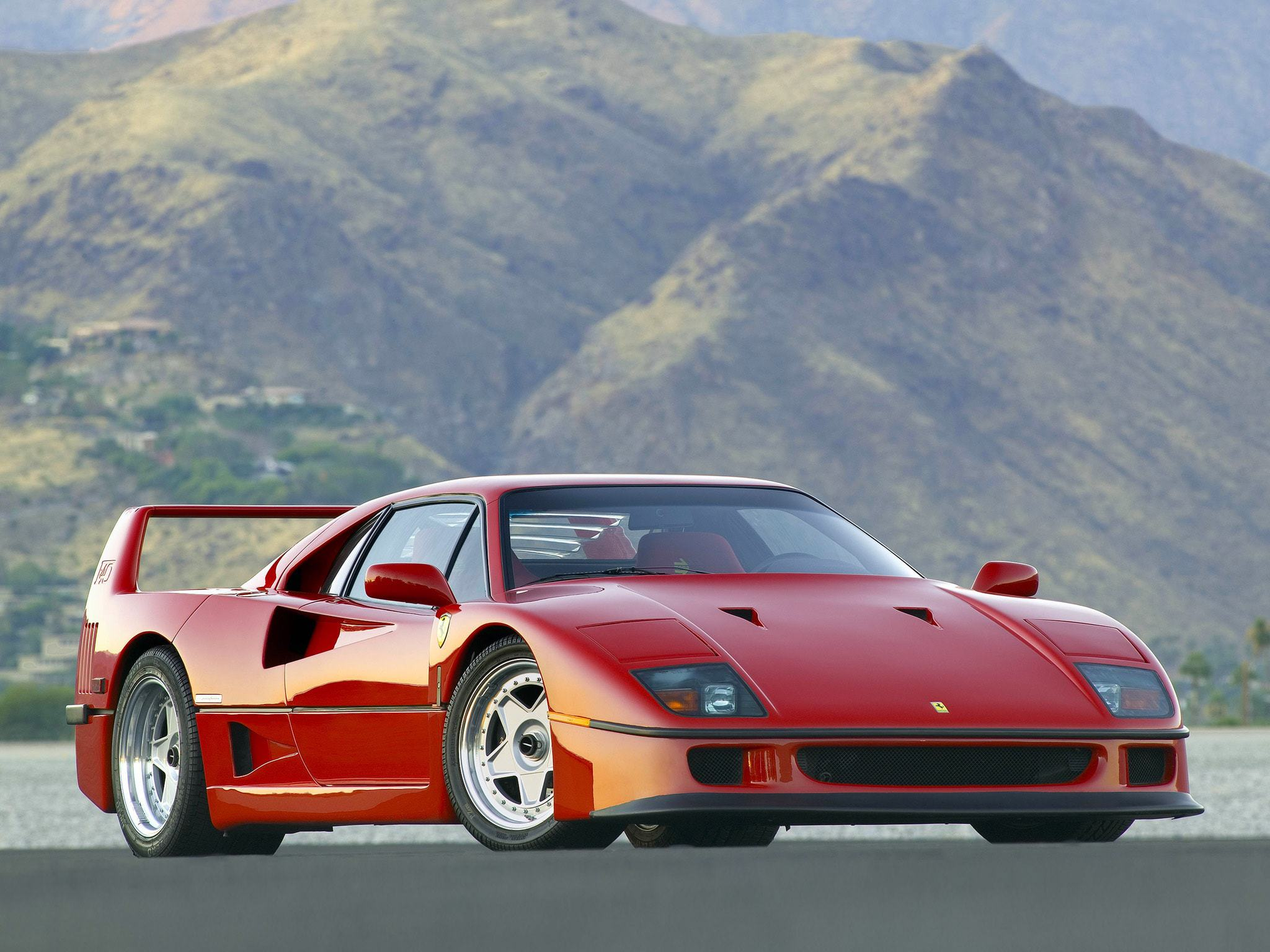 Ferrari F40 For Desktop