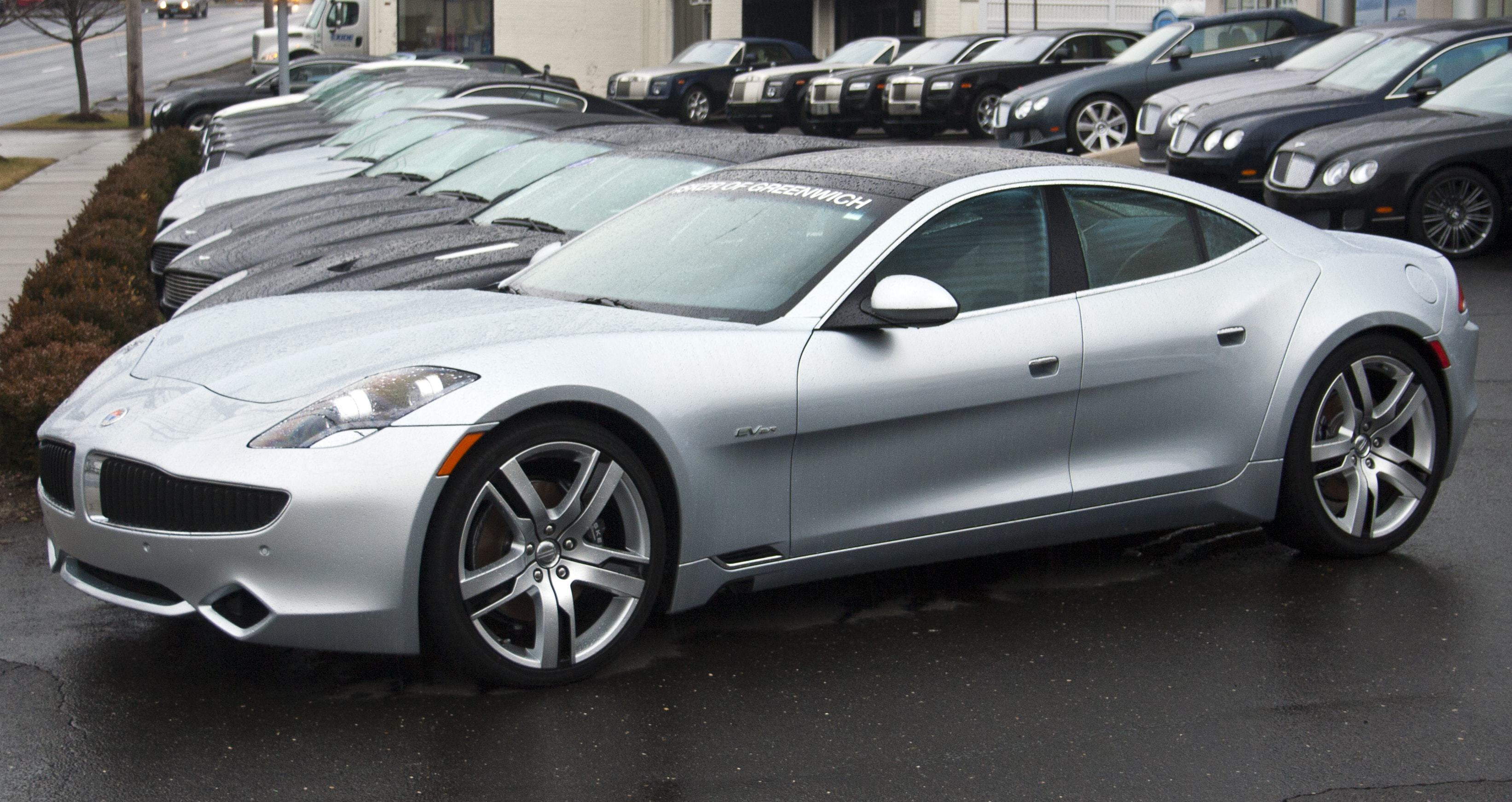 Fisker Karma High Definition Wallpapers