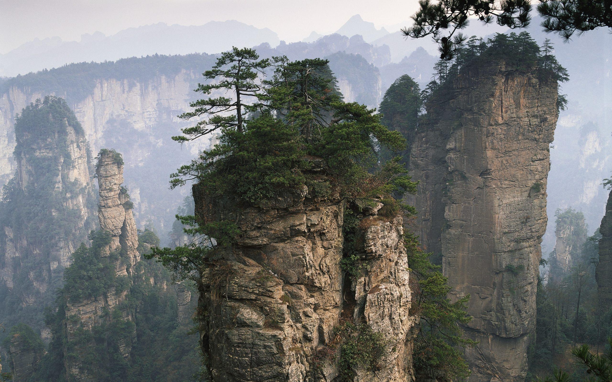 Tianzi Mountain Desktop