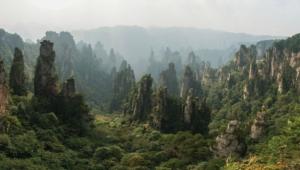 Tianzi Mountain HD Background