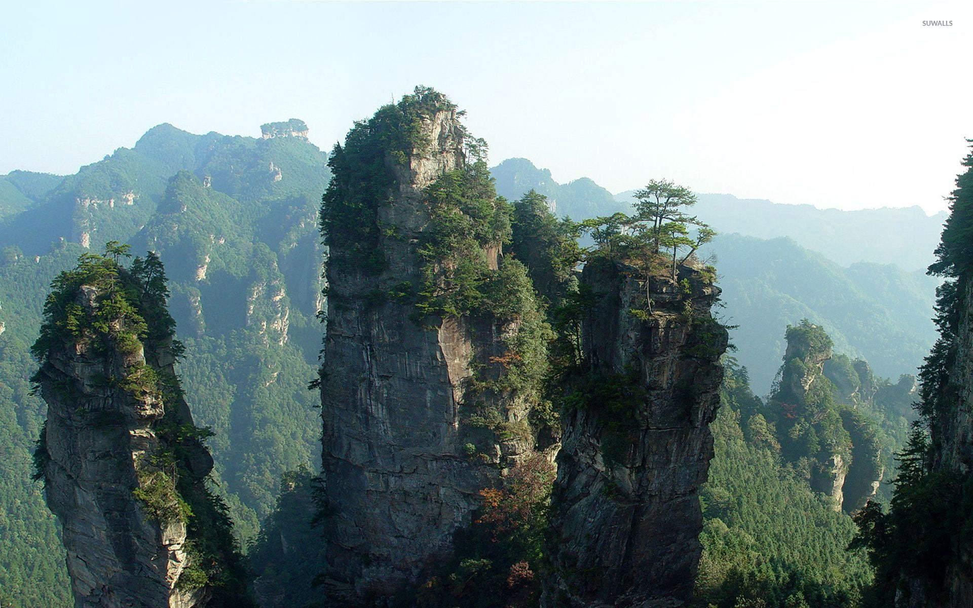 Tianzi Mountain Wallpapers HD