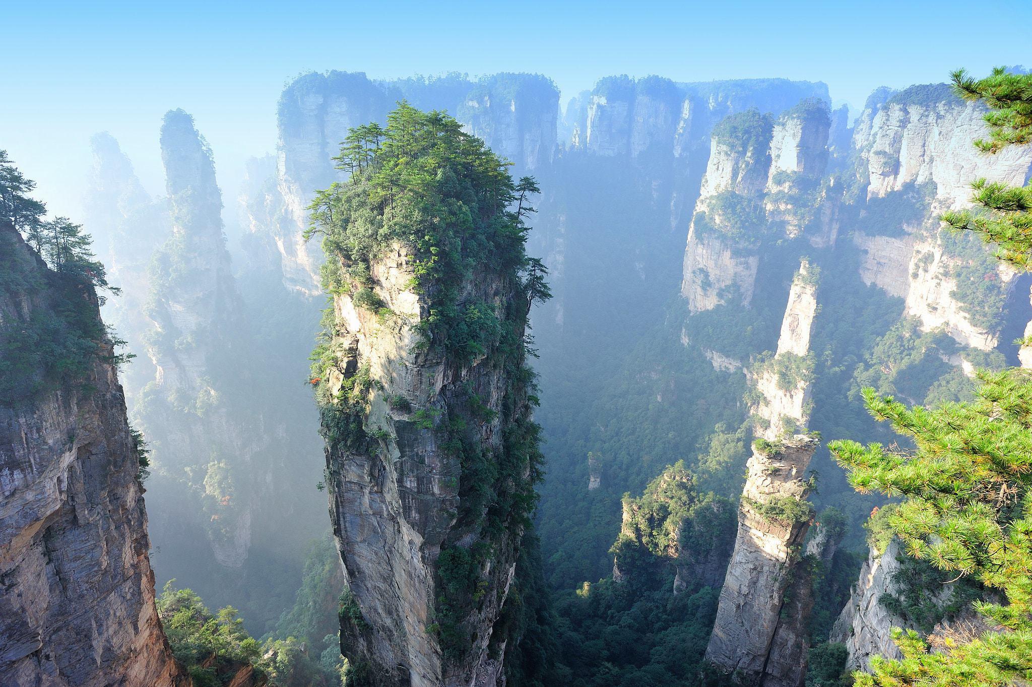 Tianzi Mountain Widescreen