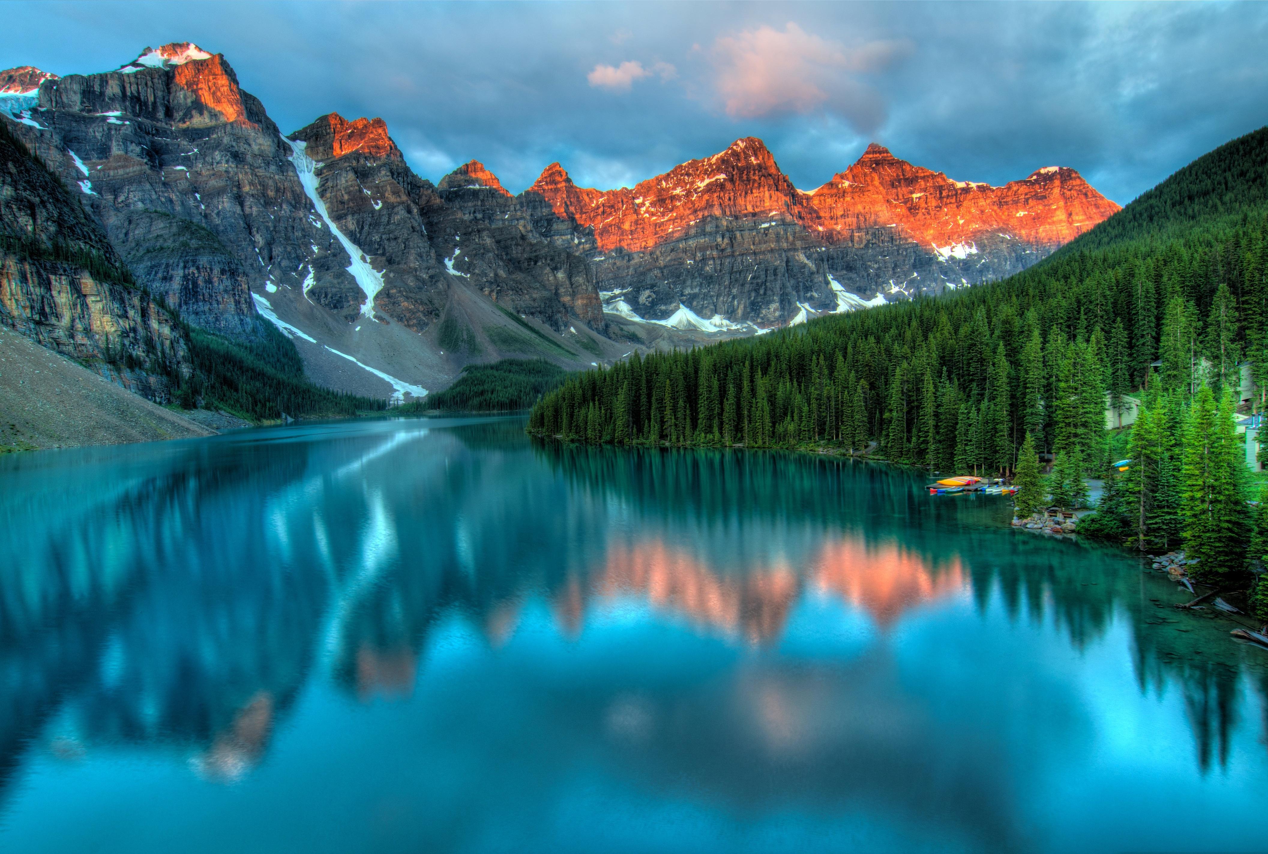 Glacier Lake Moiraine Images