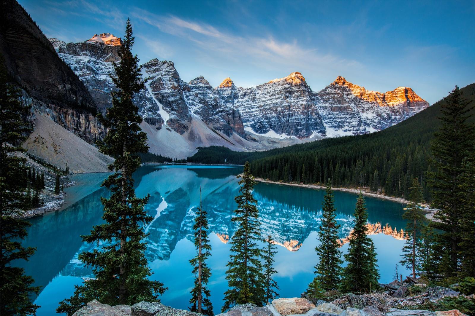 Glacier Lake Moiraine Photos