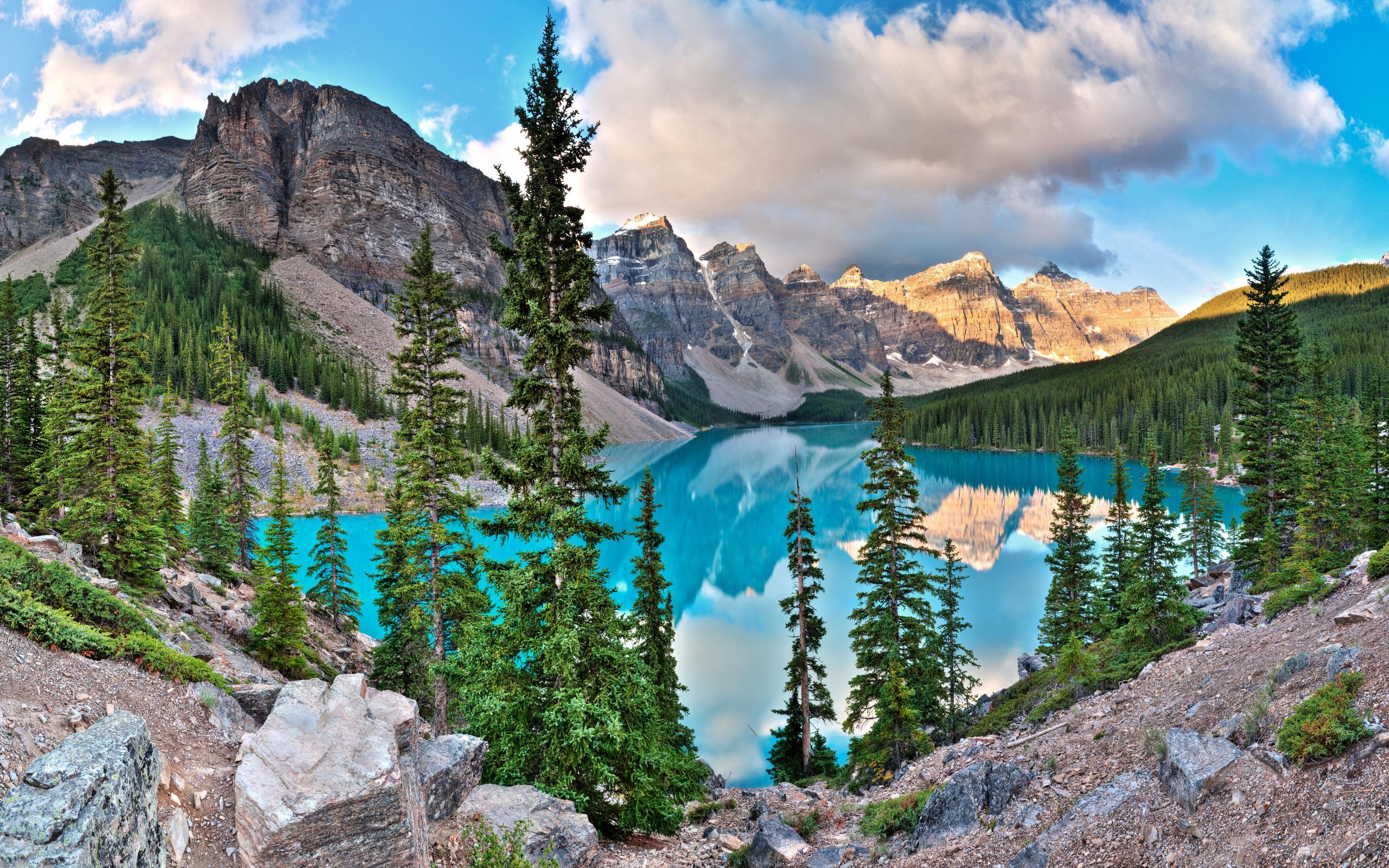 Glacier Lake Moiraine Pictures