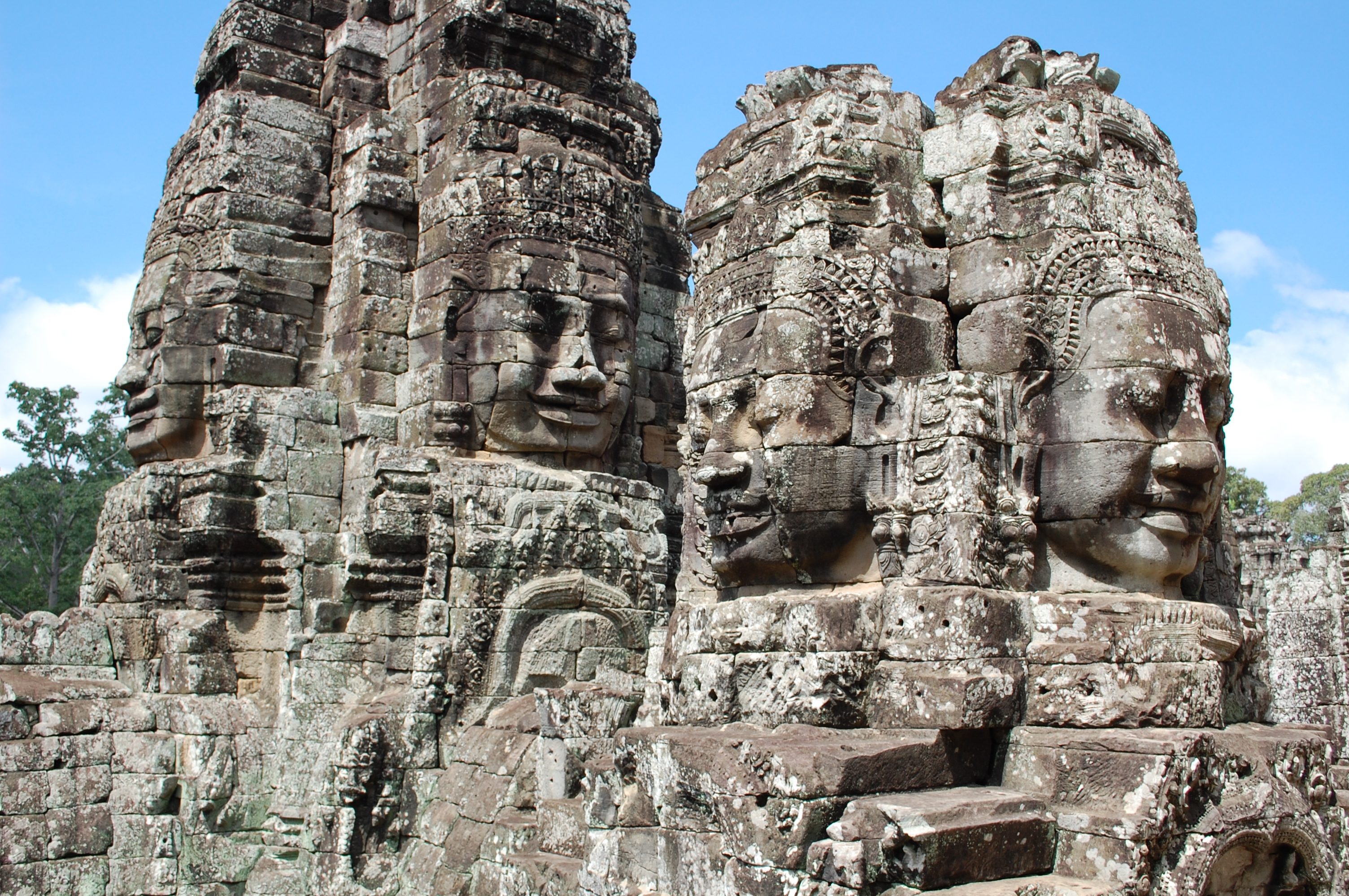Temple Complex Bayon Wallpaper