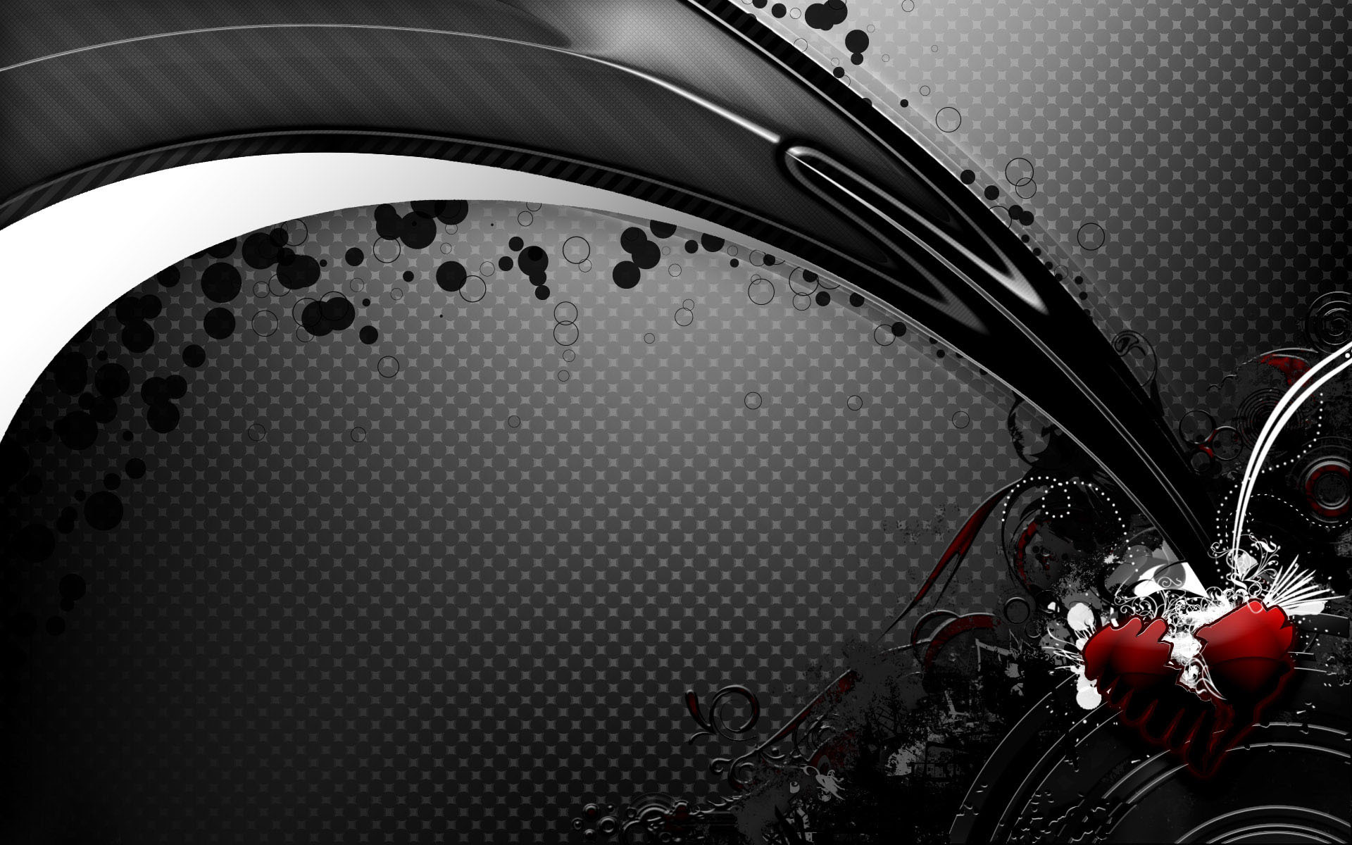 Black Abstract Desktop