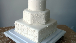 Freeze Wedding Cake Anniversary