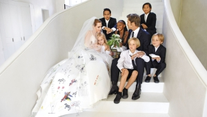 Angelina Brad Wedding Photos
