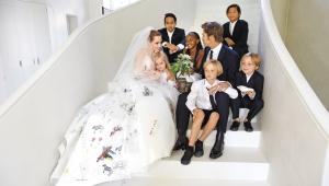 Angelina Brad Wedding Photos