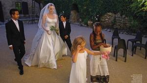 Brad And Angelina Wedding Photos