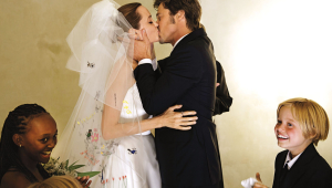 Brad & Angelina Wedding Photos