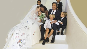 Brad Pitt Wedding Pictures
