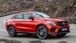 4 Mercedes Benz GLE Coupe