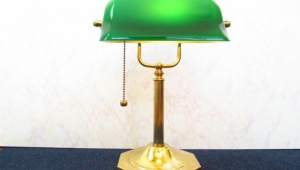 Antique Bankers Desk Lamps