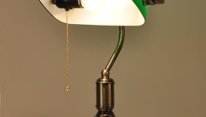 Antique Desk Lamps Bronze Metal