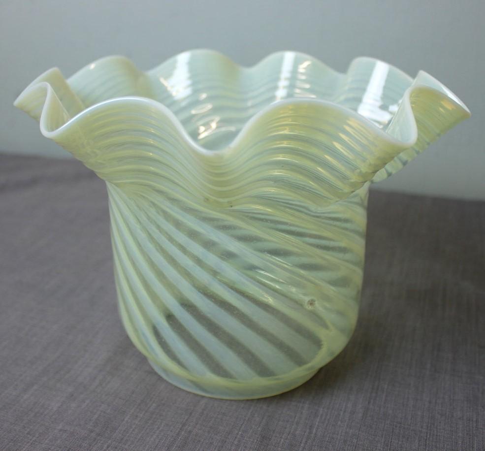 Antique Oil Lamps Glass