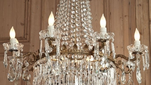 Antique Victorian Crystal Chandeliers