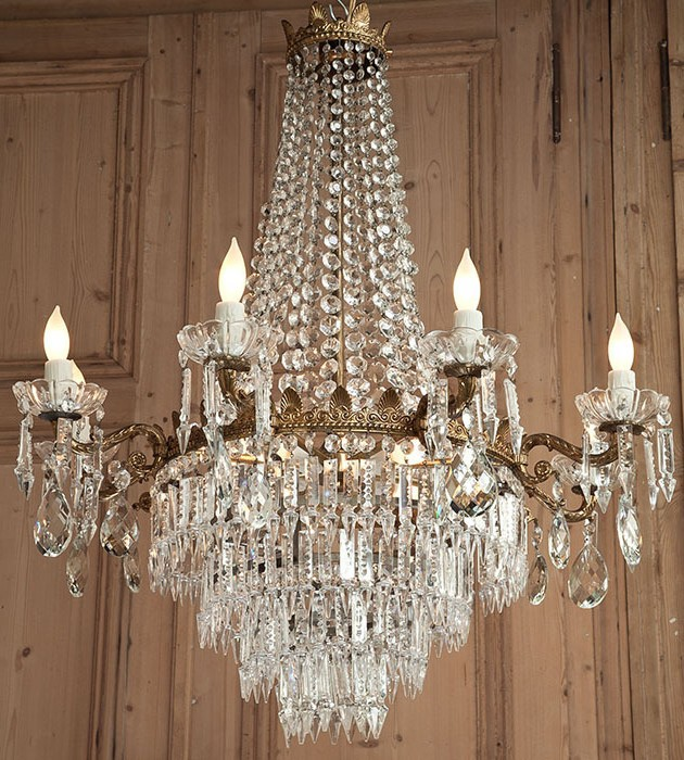 Antique victorian crystal chandeliers aloadofball Images