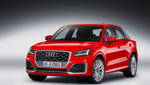 Audi Q2 HD Background