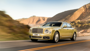 Bentley Mulsanne Background