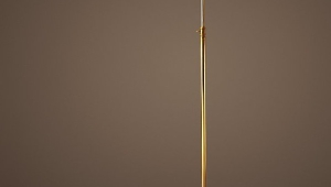 Brass Floor Standing Reading Lamps
