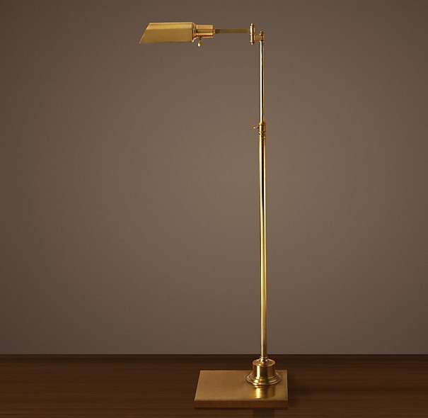 Vintage floor lamps in tables images for Retro floor reading lamp