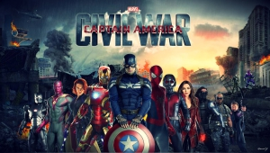 Captain America Civil War HD Wallpaper