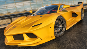 Ferrari FXX K Photos