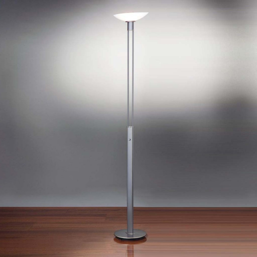 Floor lamp with dimmer control for Floor reading lamp with dimmer